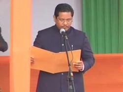 Npp President Conrad Sangma To Be Sworn In As Meghalaya Cm Today