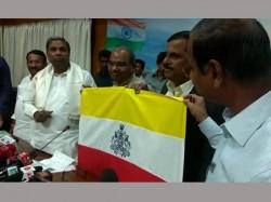 Debate Will Karnataka Flag Help Siddaramaiah In Elections