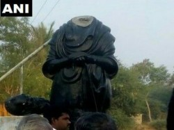 Another Periyar Statue Vandalised This Time Pudukkottai