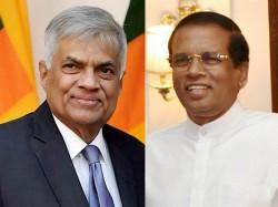 Srilanka Government Fissures Open President Sirisena Reduced Wickremasinghe Responsbilities