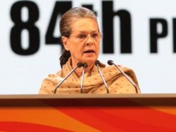 Pm Modis Promises Are Nothing But Drama Says Sonia Gandhi In Plenary Session