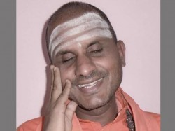 Karnataka Polls I Am A Nationalist Says Blind Lingayat Seer Who Aspires To Contest On A Bjp Ticket