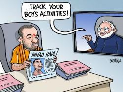 Rising Rapes India Yogi Gets Modi S Message From London