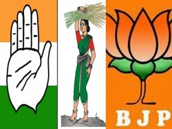 Karnataka Elections Times Now Poll Of Polls Gives Cong 93 Bjp 87 Jds