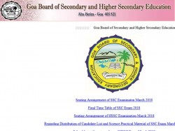 Goa Board Class 12 Results 2018 Date Confirmed Check Here