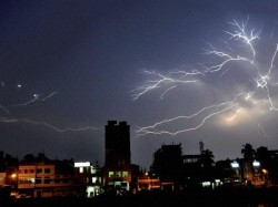 Rain Lashes Mumbai Local Train Services Hit Two People Electrocuted