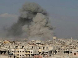 Syria Army Claims More Missile Attacks In Syria Says Neutralised Most