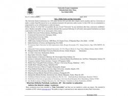 Ugc Releases List Of Fake Universities Check Full List Here