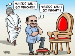 K Taka Polls Between Siddu S Wrong Kumaranna S Right B