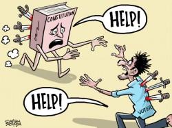 Karnataka Fiasco How Murder Constitution Democracy With Th