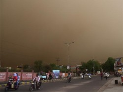 Thunderstorms Dust Storms Hit Within Next 2 Hours Up Predicts Imd