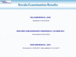Kerala Dhse Class 12 Result 2018 Declared Pass Per Cent 83 How To Check