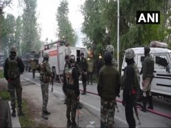 J K Crpf Personnel Injured Gun Battle With Terrorists