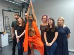 Baba Ramdevs Wax Statue In Madame Tussauds