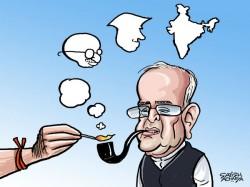 Citizen Pranab Mukherjee Smokes The Rss Pipe