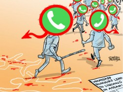 Tragedy Our Times Whatsapp Mob On Killing Spree