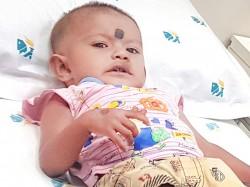 Little Kanisris Weak Heart Defect Makes Her Turn Blue From Pain