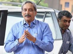 Goa Cm Manohar Parrikar Returns To India
