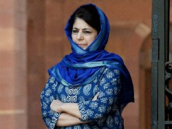 Allegations Discrimination Against Jammu Ladakh Have No Basis Mehbooba Mufti