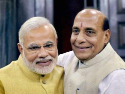 Rajnath Bats For Modis Kashmir Policy Says It Is Correct