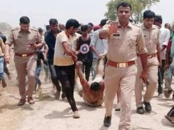 Photo Shows Man Lynched Hapur Being Dragged Locals Up Police Apologises