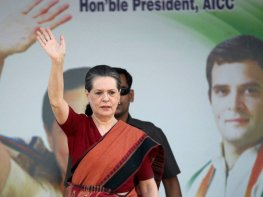 Rahul will be back among people 'very soon': Sonia Gandhi in Amethi