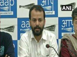 AAP MLAs claim assault by BJP