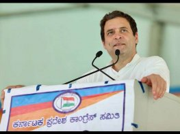 Rahul lashes out at JDS