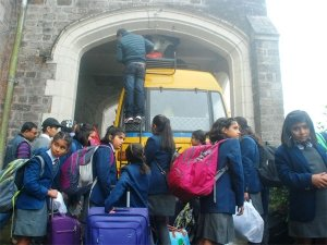 Darjeeling school boarders safely evacuated to the plains