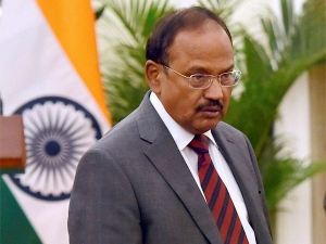 What is Doval's offensive defense and double squeeze policy for Pakistan