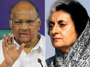 Indira v/s Pawar row divides opposition in Maharashtra ahead of assembly session