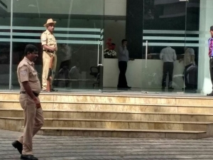 IT raids on former external affairs minister S M Krishna's son-in-law's firms