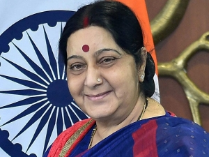 Sushma Swaraj to visit US for first 2+2 dialogue