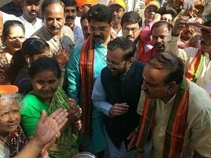 Karnataka polls: BJP launches 'Bengaluru Rakshisi Yatra' on Holi, attacks Congress