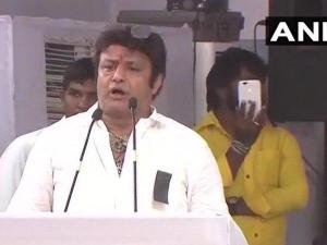 TDP MLA Balakrishna calls PM Modi a traitor, namak-haraam