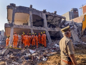 Greater Noida building collapse: 3 arrested, FIR against 18 persons