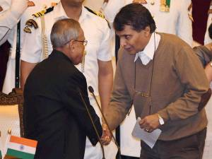 Suresh Prabhu resigns from UPL board
