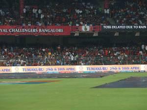 IPL 2017: RCB Vs SRH: Rain delays toss