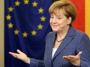 Merkel warns of recession in Europe