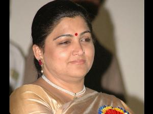 Actress Kushboo, a former DMK member, joins Congress
