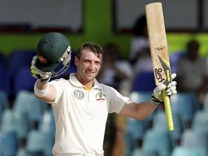 Respects to Hughes: Fans put out bats, cricketers to retire at 63*