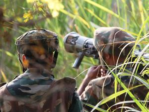 How armymen dealt with militants in Arnia in J&K: Pics from spot