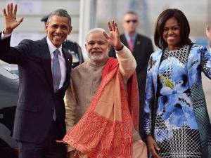 (Live updates) Obama's visit to India: Obama, Modi take a walk in the Hyd House gardens
