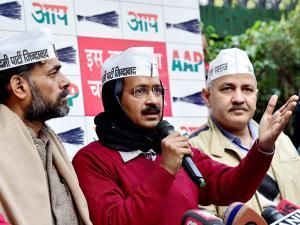 AAP releases Delhi poll manifesto, mocks Congress and BJP
