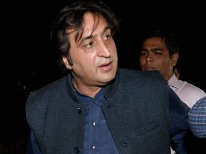 Sajad Lone rushes to Jammu to be sworn in as minister