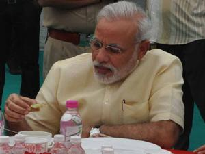 When PM Modi had lunch in Parliament canteen for Rs 29!