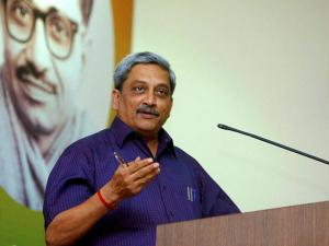 Parrikar played editor for MoD's e-book; 'In Defence of the Nation' a hit