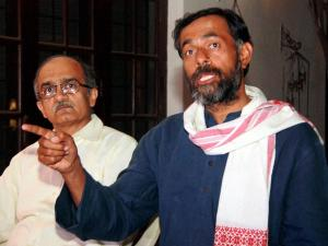 Yogendra Yadav, Prashant Bhushan removed from AAP National Council
