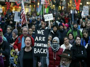 Worldwide protest rallies against Donald Trump