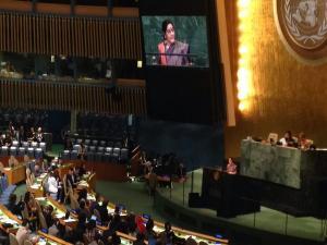 India known for IT skills, but Pak for terrorism: Swaraj at UNGA